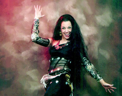 marta the legend, belly dance show in Abu Dhabi
